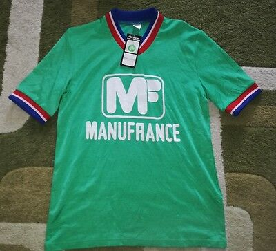 BNWT St Etienne maillot shirt jersey Manufrance size M from Weeplay #10