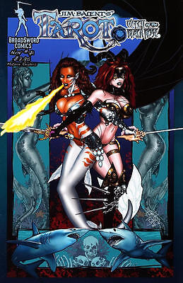Tarot Witch of the Black Rose 71a Broadsword Jim Balent sexy NM FREE UK POST