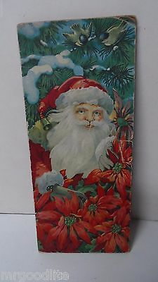 Very Old Dennison Christmas Money Holder Card