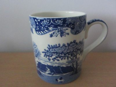 Spode Blue Italian 0.5 Litre Mug - New With Label