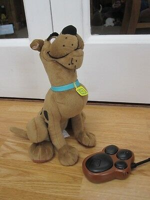 Talking Remote Controlled Scooby Doo Plush Soft Toy Tv & Film Dog