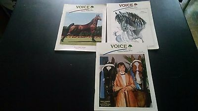 Vintage 1993  Voice of The Tennessee Walking Horse  Magazine