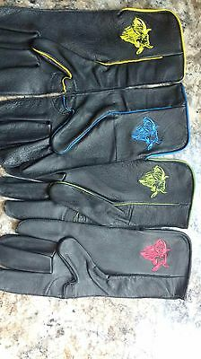 3 D Adult bullriding gloves-choice of sizes-Right or Left-PBR-rodeo-bullrider