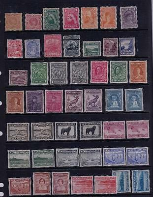 Newfoundland Very Nice Mnh/mlh/mh Collection Various Issues Great For Resale