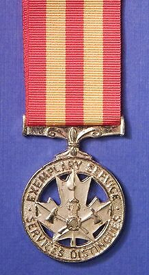Canadian Fire Services Exemplary Service Medal Specimen                   Ab0485
