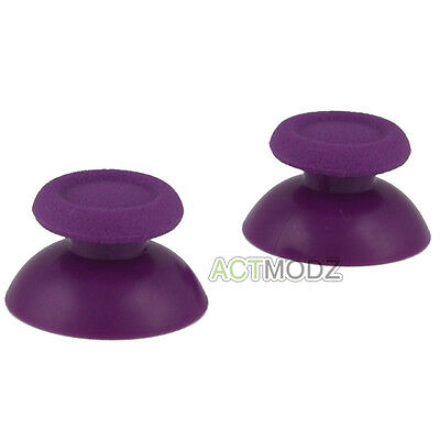 Solid Purple Analog Thumbsticks Buttons Repair for Dualshock 4 PS4 Controller