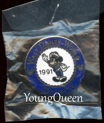 Walt Disney VIP Security for President George W Bush In 1991 Mickey Mouse Le Pin