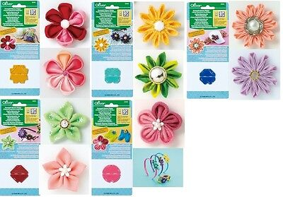5 Clover Kanzashi Flower Maker X-Small Round, Pointed, Gathered, Daisy, Orchid