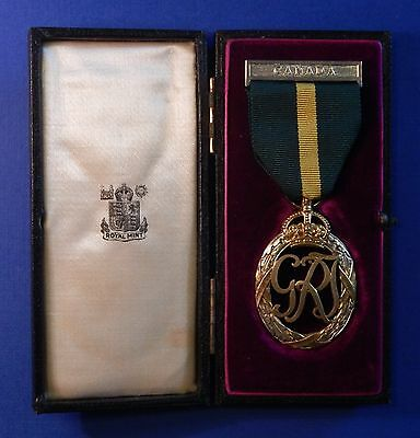 British Canadian Efficiency Decoration George Vi Named To Lieutenant Case Ab0280