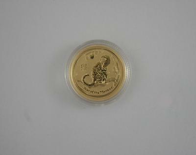 2016 Australian One Tenth Ounce Gold Year of the Monkey Lunar Coin