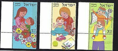 2007 ISRAEL set of 3 Gestures Of Family Love  STAMPS MNH