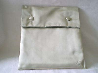 Van Cleef Original Silk/satin  Travel Or Storage Pouch/display For Necklace