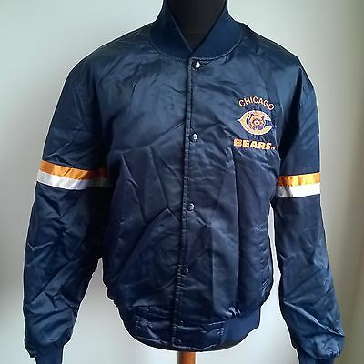 Chicago Bears 1987 Jacket Nfl Football Shirt Vintage Licensed Size Adult M