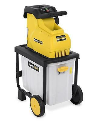 Pro Quiet Shredder Composter Garden Chipper Shredder Electric 2800W Shredder