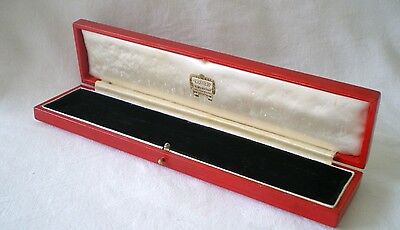 Vintage Cartier Box/case/display For /watch /bracelet/chain Or Necklace
