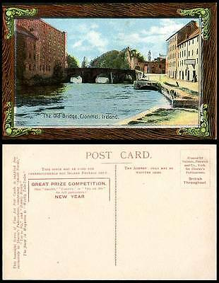 Ireland Co Tipperary CLONMEL The Old Bridge Old Postcard Great Prize Competition