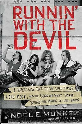 Runnin' With the Devil by Noel Monk Hardcover Book (English)
