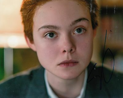 ELLE FANNING signed *3 Generations* MOVIE 8X10 photo autographed RAY W/COA #1