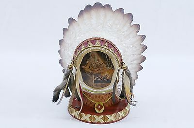 """Bradford Exchange """"Shaman Wisdom"""" by Russ Docken - Proud Traditions Collection"""