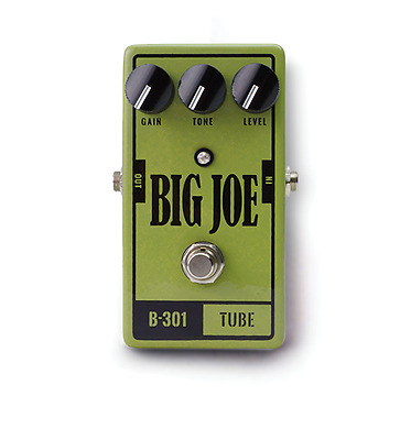 Big Joe Tube B-301! *analog Tube-Style-Overdrive!*perfect For Blues&rock*deal!*