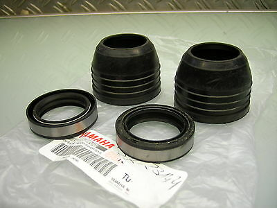 Fork Rd 250 Rd 350 Rd 400 -´77 Ds7 R5 Oil Seal Sealing Rings + Dust Cover Caps