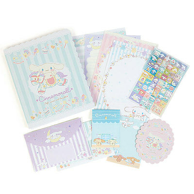 2017 Sanrio Japan cinnamoroll Dog Letter Set Stationery ~ NEW