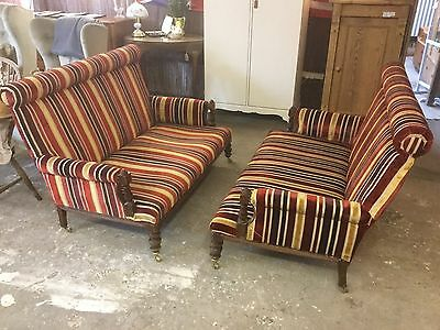 Pair Of Antique Edwardian Sofas