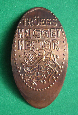 Troegs Brewery elongated penny Hershey PA USA cent Nugget Nectar souvenir coin