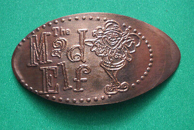 Troegs Brewery elongated penny Hershey PA USA cent The Mad Elf souvenir coin
