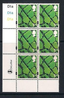 GB mint stamps - Regional Cylinder Block DLR - Northern Ireland, 1st Class