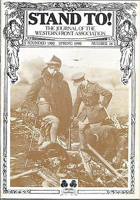 JOURNAL of the WESTERN FRONT ASSOCIATION  -  STAND TO!  -  #28