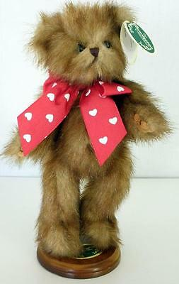 "The Bearington Collection Limited Edition ""Loverboy' Bear With Bearington Stand"