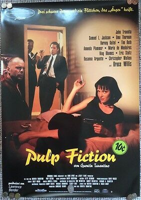 Pulp Fiction Original German Theatrical Film Poster Tarantino