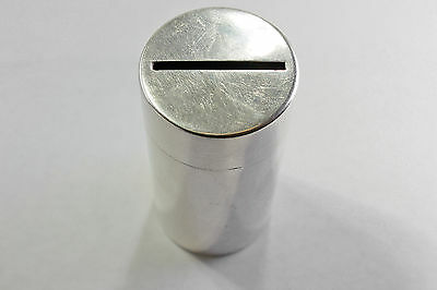 Vintage Tiffany & Co. Makers Coin Holder Bank - Sterling Silver # 23930
