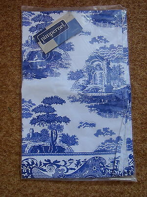 Spode Blue Italian Tea Towel - Sealed In Packet