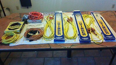 Spark Plug Wire Lot Vintage Hot Rod Nos Stinger Holley Speedy
