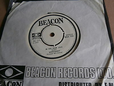"Whichwhat In The Year 2525 Parting Beacon Records Bea 133 60's Pop Rock 7"" Vinyl"