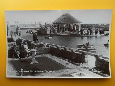 Boating Pool GREAT YARMOUTH Norfolk - Donlion Series RP 1928