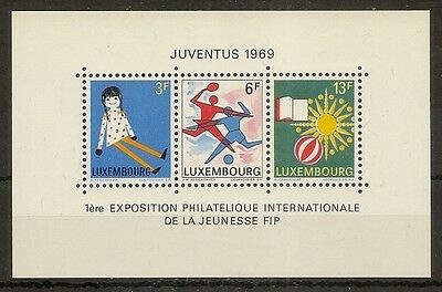 Luxembourg 1969 Exhibition MS835 MNH