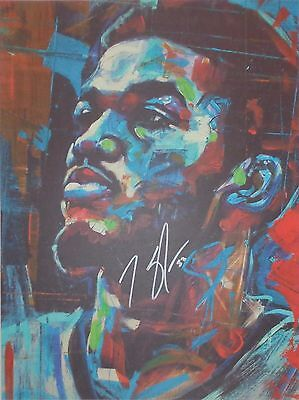 "KARL ANTHONY TOWNS - HAND SIGNED ""Aaron Kizer"" 18x24 ORIGINAL PRINT w/ COA"