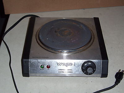 Waring Model SB30 Professional Extra Burner SS Hot Plate