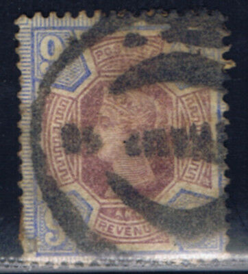 Great Britain #120(1) 1887 9 pence blue & lilac Victoria Used CV$42.50
