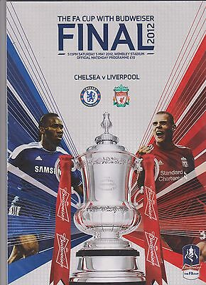 2012 F.A.Cup Final.Chelsea v Liverpool.