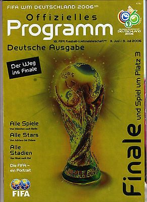2006 World Cup Final.German Ed.France v Italy