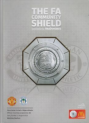2013 F.A.Charity Shield.Manchester Utd v Wigan Ath.