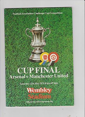 1979 F.A.Cup Final.Arsenal v Manchester United