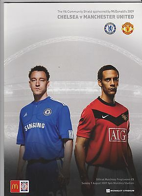 2009 F.A.Charity Shield.Chelsea v Manchester United.