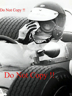 Jim Clark Gold Leaf Team Lotus 48 Hockenheim F2 1968 Photograph 3