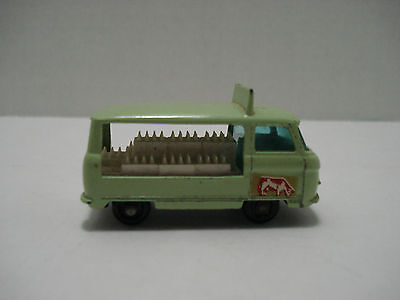 Matchbox Commer Milk Delivery Truck  # 21-C  Made In  England 1961