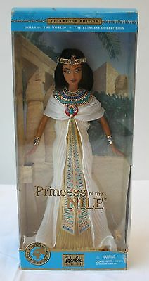 Barbie Princess of the Nile Dolls of the World Collection NRFB #53369